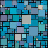 Random squares background Stock Photos