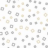 Random squares pattern, abstract background. Geometrical simple illustration. Creative ans luxury style vector illustration