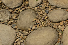 Random stone pattern Royalty Free Stock Image