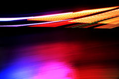 Random streaks of light Stock Photos