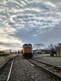 Random trains in Atchison Kansas. Stock Photography