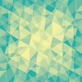 Random triangle pattern background Stock Photography