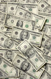 Random USA Paper Money Royalty Free Stock Photo