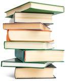 Randomly placed books Stock Photography