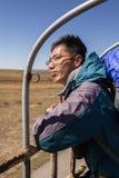 Randonneur chinois de voyageur Images stock