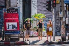 Randonneurs en Thaïlande Image stock