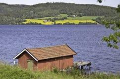 Randsfjorden Lake Royalty Free Stock Photos