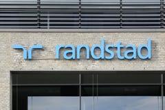 Randstad logo na ścianie fotografia royalty free