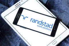 Randstad spólki nadrzędna logo fotografia stock