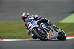 Randy de puniet, moto gp 2012. Randy de puniet riding in moto gp 2012 Stock Photography