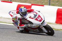 Randy Krummenacher racing Moto2 Stock Photos