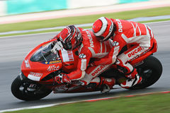 Randy Mamola on Ducati 2 Seater Stock Photo