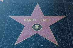 Randy Quaid Hollywood Star Stock Images