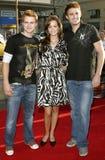 Randy Wayne, April Scott et Jonathan Bennett photo libre de droits