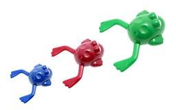 Rane del giocattolo Immagine Stock Libera da Diritti