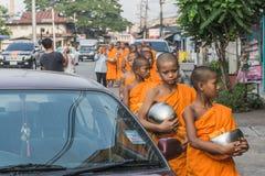 Rane pescarici buddisti Fotografia Stock