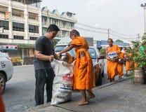 Rane pescarici buddisti Fotografia Stock Libera da Diritti