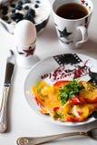 Ranek śniadanie Zdjęcie Royalty Free