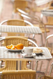 Ranek świeży śniadanie Fotografia Stock