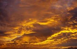 Ranek chmury Obrazy Royalty Free