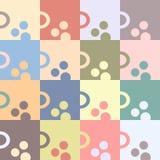 Ranek filiżanka herbata lub kawa bezszwowy wzoru geometrycznego Obraz Stock