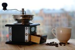 Ranek filiżanka kawy Zdjęcia Royalty Free