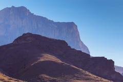 Ranek gaza w Kaukaskich górach Obraz Royalty Free