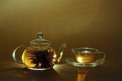 ranek herbata fotografia stock