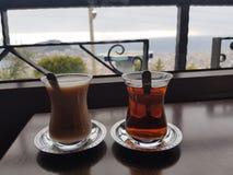 Ranek herbata Zdjęcie Stock
