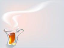 ranek herbata Obraz Royalty Free