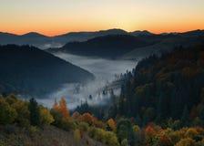 Ranek jesień Fotografia Royalty Free