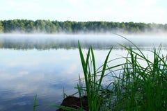 Ranek jeziorem Zdjęcie Royalty Free