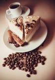 Ranek kawa i souffle Obraz Stock