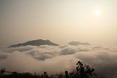 Ranek mgła Obrazy Royalty Free