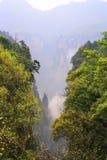 ranek mgłowe góry Zdjęcia Stock