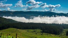 ranek mgliste góry zdjęcie wideo