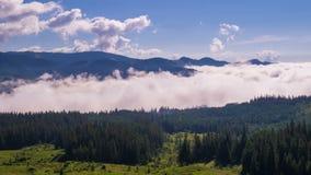 ranek mgliste góry zbiory wideo