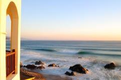 ranek morze Zdjęcie Stock