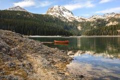 Ranek na jeziorze. Obrazy Royalty Free