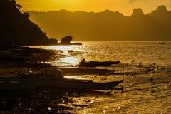 Ranek na morzu Zdjęcie Royalty Free