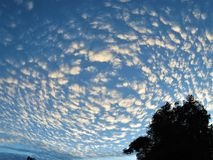 ranek piękny niebo zdjęcia stock