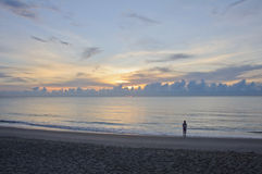 ranek piękny wschód słońca obrazy royalty free