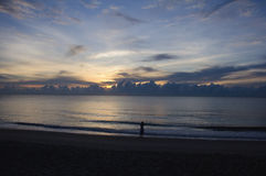 ranek piękny wschód słońca Fotografia Stock