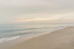 Ranek plaża Fotografia Stock