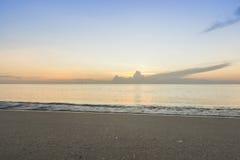 Ranek plaża Obraz Royalty Free