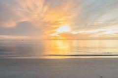 Ranek plaża Zdjęcie Royalty Free
