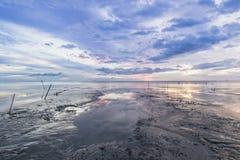Ranek plaża Fotografia Royalty Free