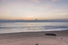 Ranek plaża Obrazy Royalty Free