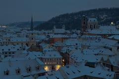 ranek Prague Zdjęcie Stock