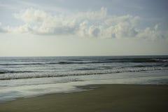 Ranek przy plażą w Floryda zdjęcie royalty free